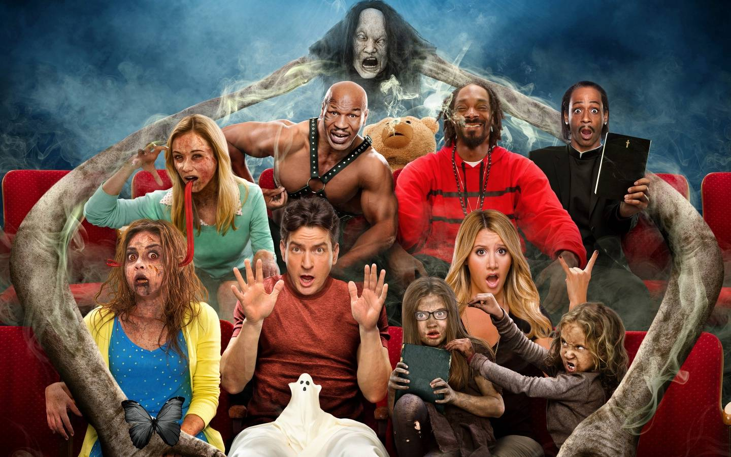 Scary movie 5 l 39 ennesimo episodio della saga parodica - Scary movie 5 wallpaper ...