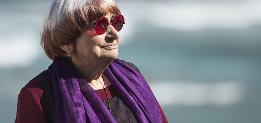 SAN SEBASTIAN, SPAIN - SEPTEMBER 24:  Agnes Varda receives the Donostia Award during the 65th San Sebastian International Film Festival on September 24, 2017 in San Sebastian, Spain.  (Photo by Carlos Alvarez/Getty Images)