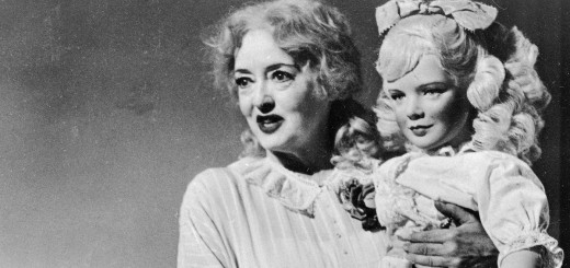 Bette Davis in the role of Jane Hudson in What Ever Happened To Baby Jane? The classic horror film, which has just turned 50, is being released on Blu-ray