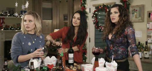 Kristen Bell, Mila Kunis, and Kathryn Hahn star in A BAD MOMS CHRISTMAS.
